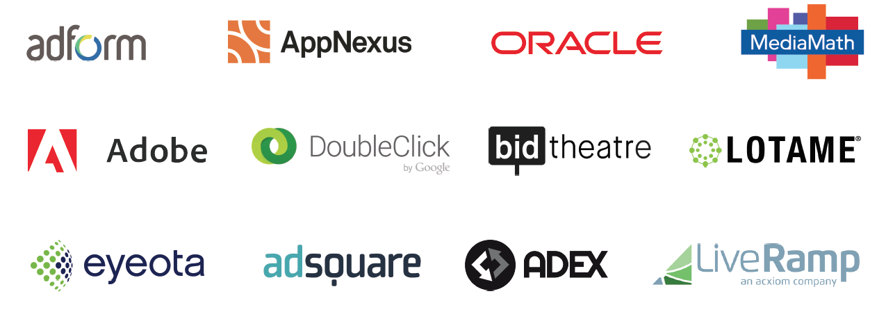 global data platforms - Onaudience.com partners